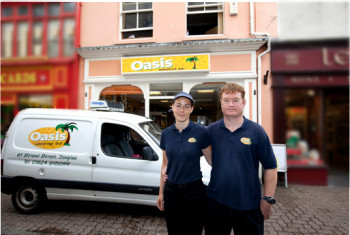 Oasis Catering offer an Island wide delivery service